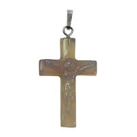 Pendant Cross Agate, 3,5cm