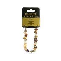 "Bracelet Baroque Classic Agate ""Protection"", 1 string"