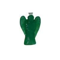 Angel Pendant Aventurine (green), 3cm