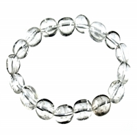 Bracelet Nuggets, Rock Crystal, 18-22mm