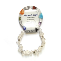 Chips Bracelet, Rock Crystal, for Stand-alone display