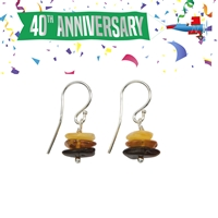 Earhook Amber Chips multi-colour