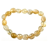 Bracelet Nuggets, Citrine (heated), 18-22mm