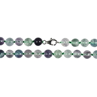 Necklace Beads, Fluorite, 08mm/45cm