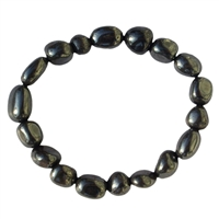 Bracelet Nuggets, Hematite (natural), 18-22mm