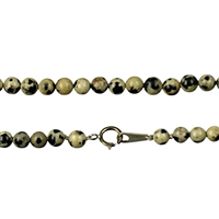 Necklace Beads, Dalmation Stone, 04mm/45cm