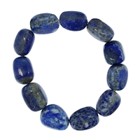 Armband Nuggets, Lapis, 18-22mm