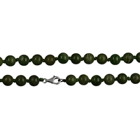 Necklace Beads, Nephrite Jade, 08mm/80cm