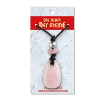 Power Stone Pendant Rose Quartz