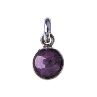 Pendant Ruby (Star), app. 10 - 20mm