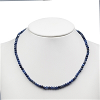 Necklace Bead, Sodalite, 04mm/45cm