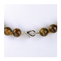 Necklace Beads, Tiger's Eye, 08mm/45cm