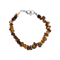 "Bracelet Baroque Classic Tiger's Eye ""Perspective"", 1 string"