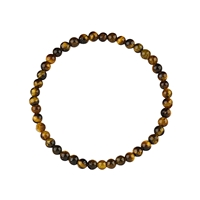Bracelet Beads, Tiger's Eye, 04mm