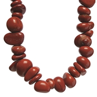 "Collier Baroque Classic Red Jasper ""Willpower"", 1 string"