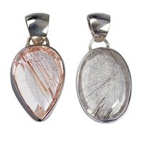 Pendant Rutilated Quartz