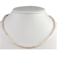 Necklace Bead, Pearl Sweetwater, 04mm/45cm
