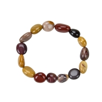 Bracelet, Mookaite, 10 - 12mm Nuggets