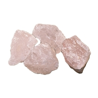 Decoration Stones Rose Quartz, appr. 03cm