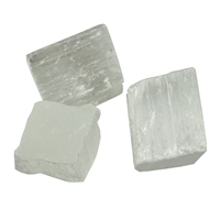 Decoration Stones Selenite (Fibre Gypsum), appr. 03cm