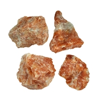 Dekosteine Calcit (rot-orange), 03 - 04cm