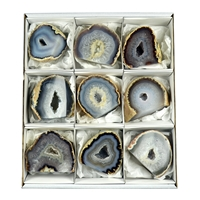 Geodes Agate, 06 - 08cm (9 pc/VE)