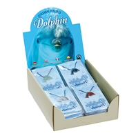 "Pop-Up Display ""Dolphins drilled"" (24 packs)"