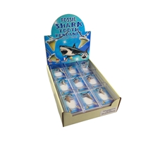 "Pop-Up Display ""Pendants Fossil Shark Teeth"" large (18 boxes)"