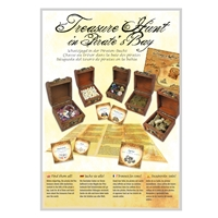 "Treasure Chest with Filling ""Pirate Gold"""