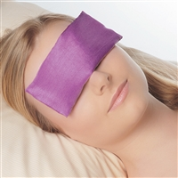 Gemstone Eye Pillow with Amethyst
