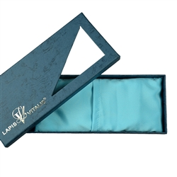 Gemstone Eye Pillow with Aquamarine