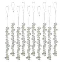 Gemstone Decoration Strings, Rock Crystal (10 pc/VE)