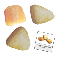 Refill pack Tumble Stones, 24 pieces Calcite orange with accessoires