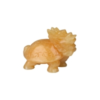 Dragon Turtle Calcite (orange), appr. 05,5cm