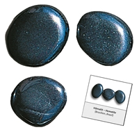 Refill pack Tumble Stones, 24 pieces Hematite with accessoires