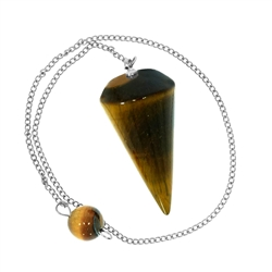"Pendulum Tiger's Eye ""Insight"""