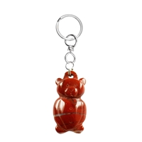 Keychain Teddy Jasper red