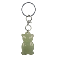 Keychain Teddy Serpentine (China Jade)
