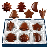 Christmas Decoaration, Sandstone brown (6 pc/VE)