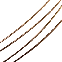 Steel Choker multiple Cords brown, 45cm