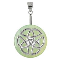 "Donut Holder ""Celtic Knot"" Silver, for 30 - 40mm donut"