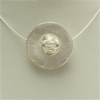 Varius Circle Silver frosted, 30mm