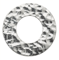 Varius Circle Silver hammered, 50mm