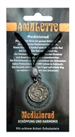Pewter Amulet Wheel of Medicine