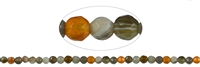 String Beads, Agate (Botswana), facetted, 08mm