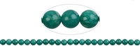 String Beads, Amazonite (dark) A, 08mm