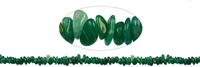 Strings Chips, Amazonite dark, 02 - 04 x 05 - 10mm