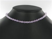 String Spindle Amethyst (lilac) 08 x 06mm