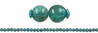 String Beads, Apatite transparent AA, 06mm