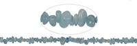 String Splint, Aquamarine, 02-04 x 05-10mm, app. 88cm long